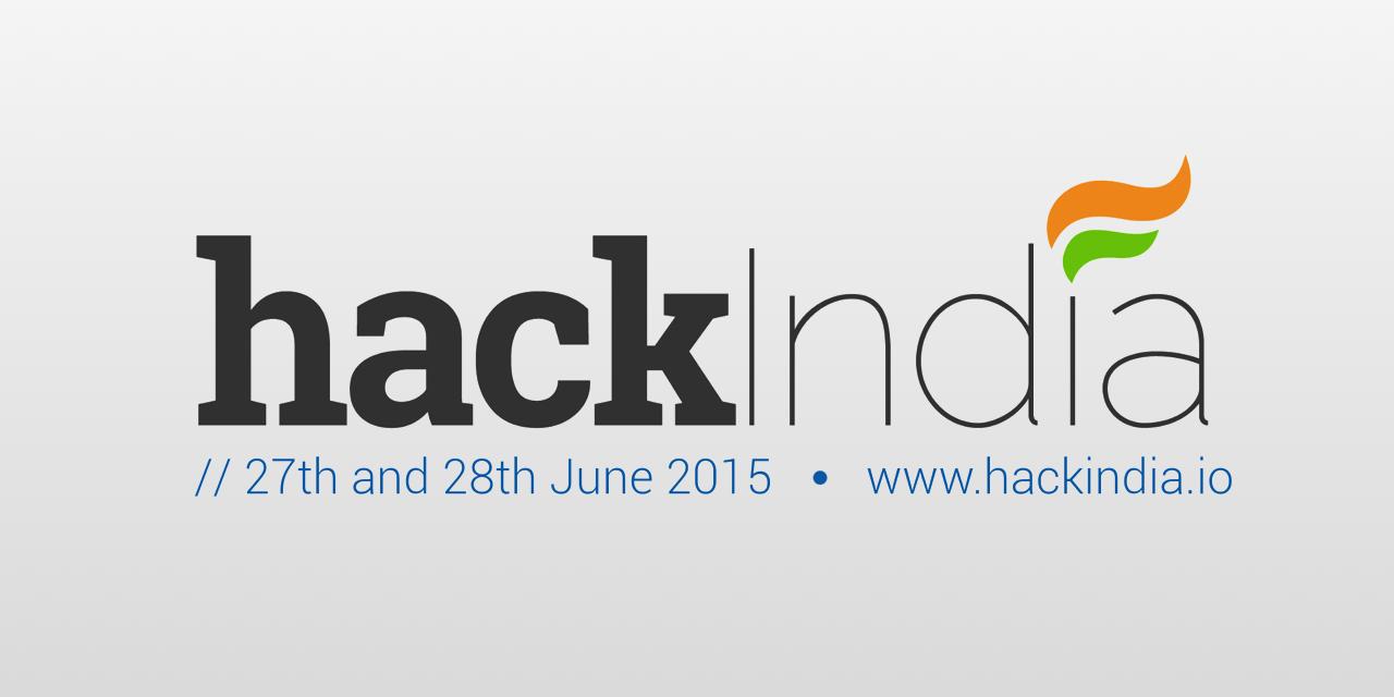 HackIndia banner