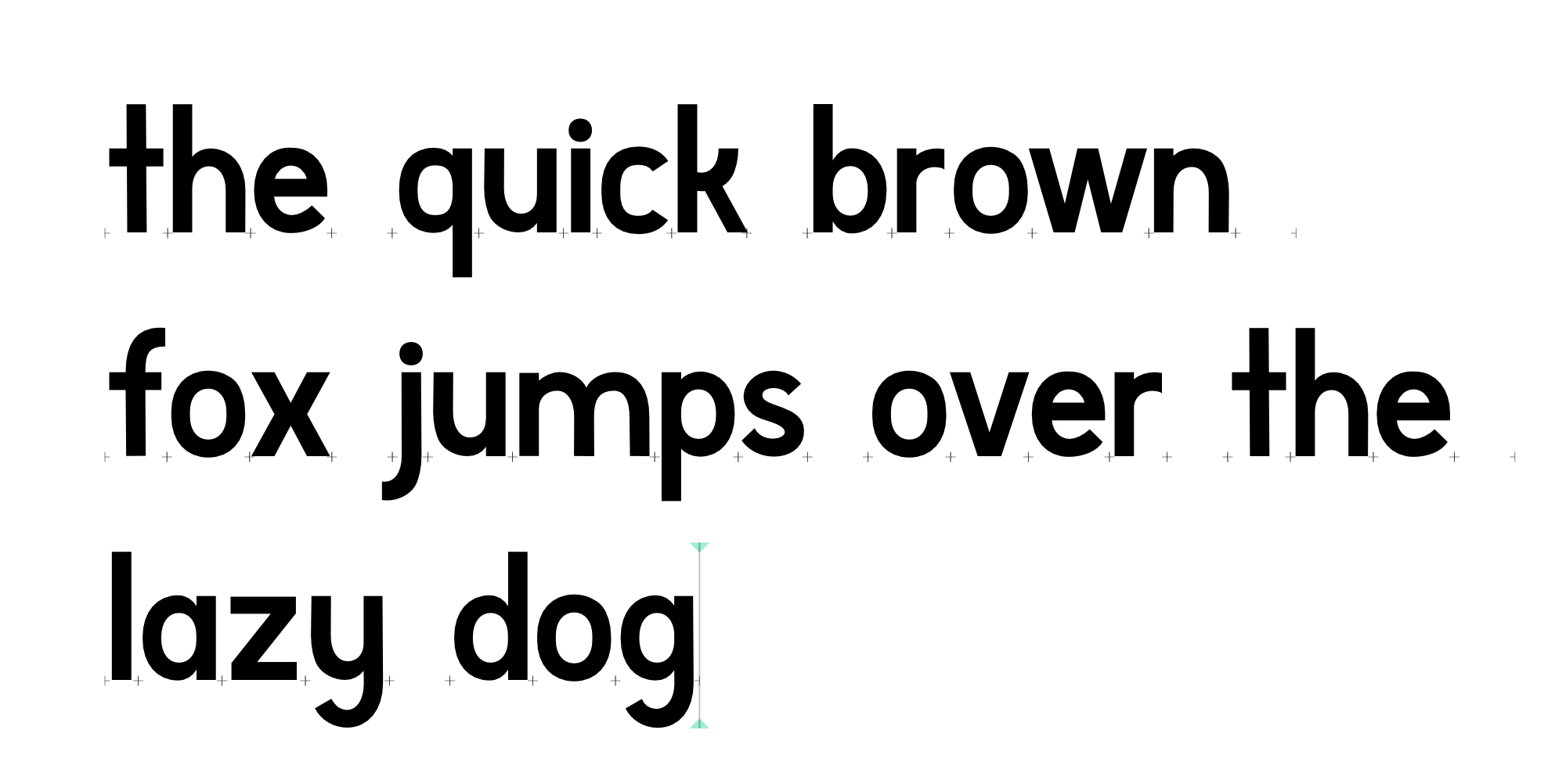 """The quick brown fox jumps over the lazy dog."""